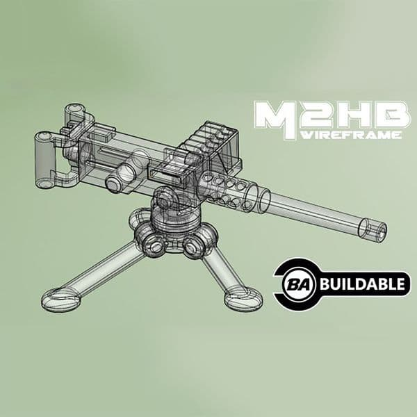 M2HB With Tripod | Brickarms | United Bricks